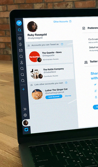 Twitter professional tools for teams